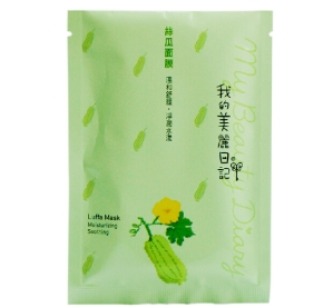 Free-shipping-my-beauty-diary-Luffa-mask-face-mask-Moisturizing-and-soothing-10pcs